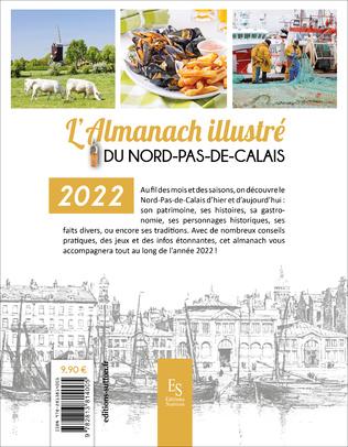 4eme L'almanach illustré du Nord - Pas-de-Calais 2022