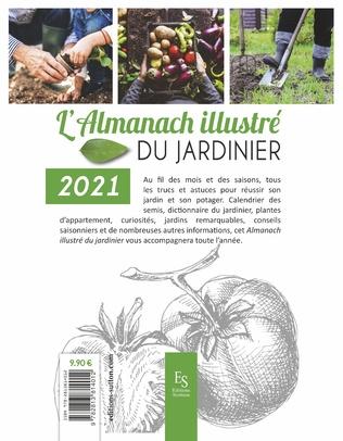 4eme L'Almanach illustré du jardinier 2021