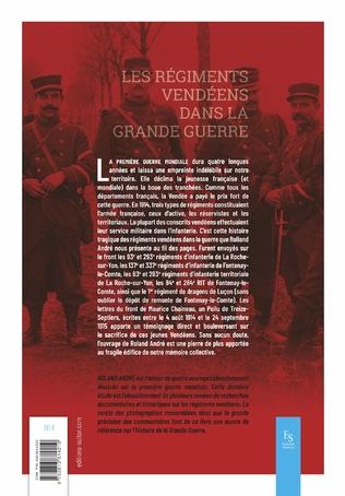 4eme Les régiments vendéens dans la Grande Guerre