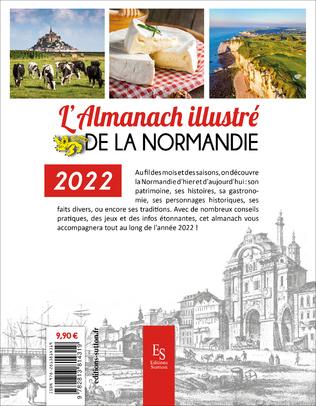 4eme L'almanach illustré de la Normandie 2022