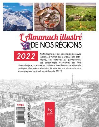 4eme L'almanach illustré de nos régions 2022