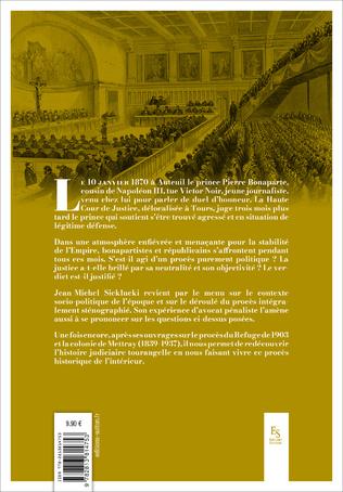 4eme Un Prince jugé à Tours 1870 - Le procès Bonaparte