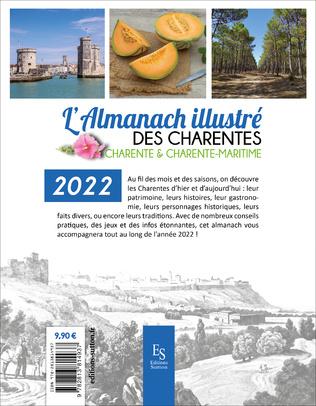 4eme L'almanach illustré des Charentes 2022