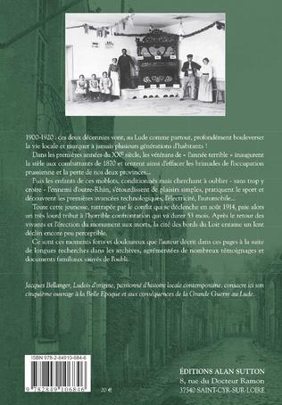 4eme Chroniques du Lude 1900-1920